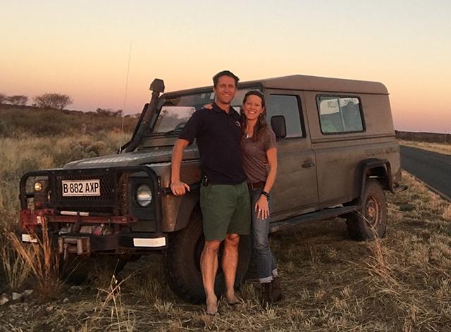 Simon Morgan and Jordana Meyer