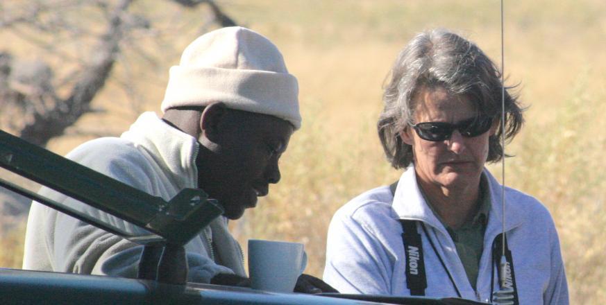 Elizabeth Hadly in Africa