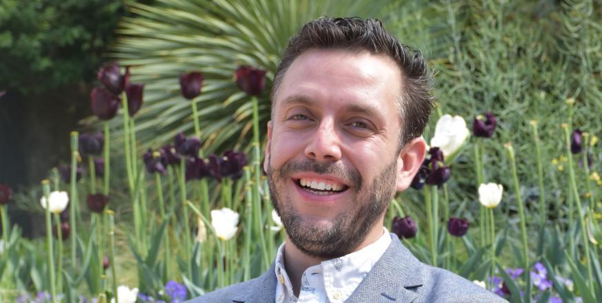 Jorge Ramos, JRBP's new Associate Director for Education
